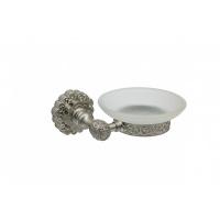 Держатель для мыла настенный Milacio MC.905.SL, серебро (коллекция Villena)