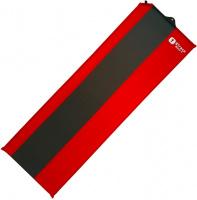 Коврик самонадувающийся BTrace Basic 4, 183*51*3,8см Красный/Серый 4-25404
