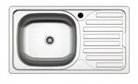 Кухонная мойка Zigmund & Shtain Rechteck 765.6 Satin сифон