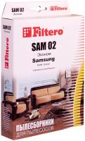 Пылесборники Filtero SAM 02 (4) Эконом