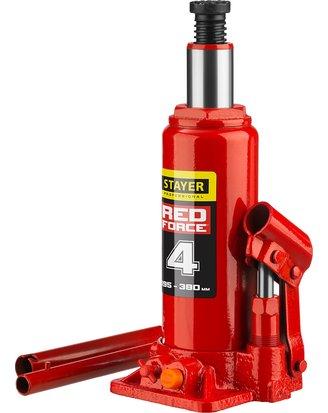 Домкрат гидравлический бутылочный Stayer Red Force 43160-4_z01