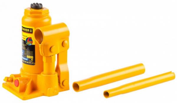 Домкрат гидравлический бутылочный Stayer Profi 43160-20 20т