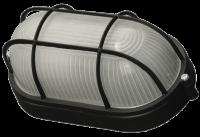 Светильник уличный Светозар влагозащищенный с решеткой цвет черный SV-57207-B