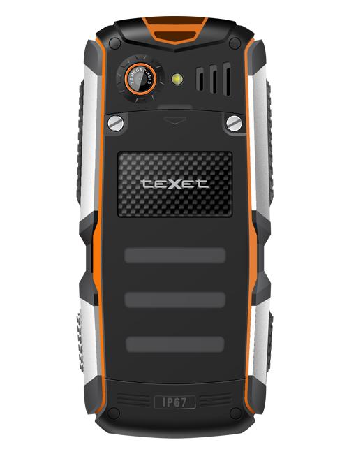 Сотовый телефон Texet TM-513R черно-оранжевый Dual Sim