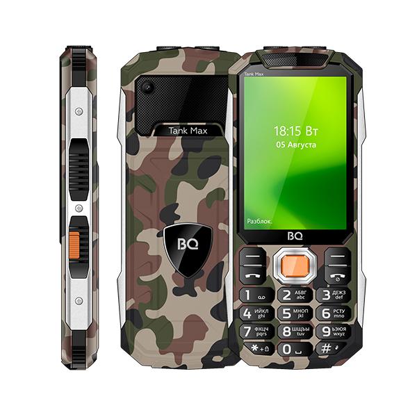 Сотовый телефон BQ 3586 Tank Max Camouflage