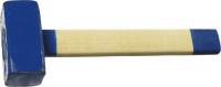 Кувалда Сибин 20133-4 с деревянной рукояткой, 4кг