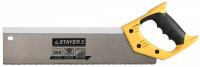 Ножовка для стусла c усиленным обушком Stayer 15365-35 350 мм, 12 TPI, прямой зуб, для точного реза