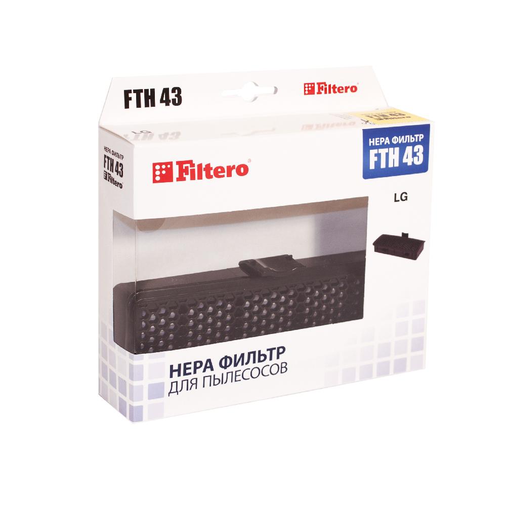 HEPA фильтр Filtero FTH 43 для пылесосов LG
