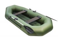 Лодка ПВХ Аква Оптима 260 НД зеленый