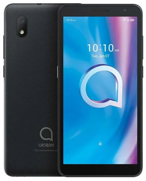 Смартфон Alcatel 1A 5002F 16Gb 1Gb черный 3G 4G 2Sim