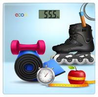 Весы напольные Econ ECO-BS012