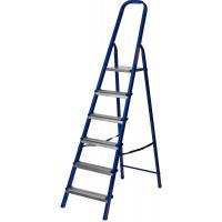 Лестница-стремянка Mirax, 6 ступеней, 121 см, 38800-06
