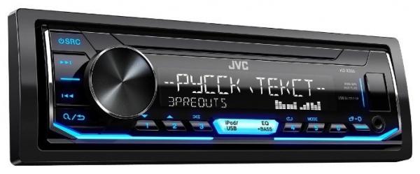 Автопроигрыватель MP3/WMA JVC KD-X355