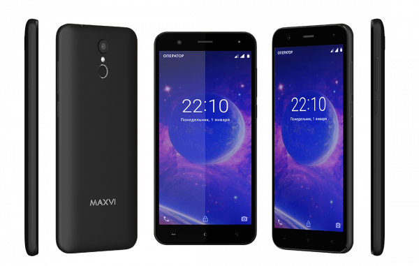 Смартфон Maxvi MS531 Vega black
