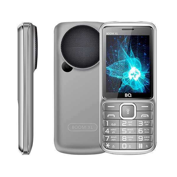Сотовый телефон BQ 2810 BOOM XL Gray