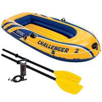 """Надувная лодка Intex """"Challenger 2"""" 68367"""