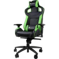 Кресло игровое Thermaltake eSPORTS GT Fit GTF 100 black/green