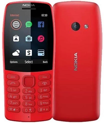 Сотовый телефон Nokia 210 DS Red