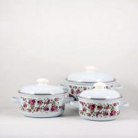 Набор посуды Лысьва № 124-4 Китайская роза С-124АП2/4
