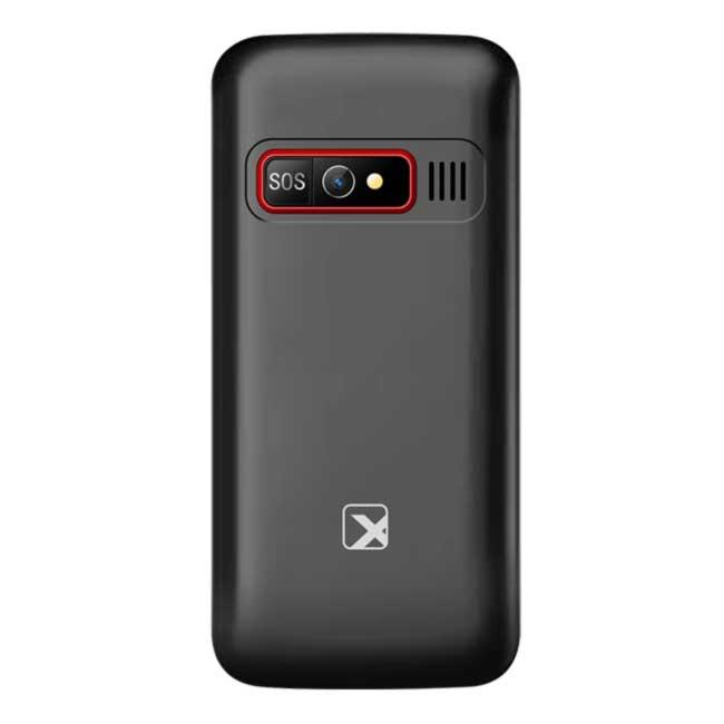 Сотовый телефон Texet TM-B226 цвет черный-красный