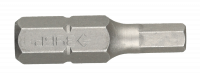 "Биты Зубр ""МАСТЕР"", HEX4, 25 мм, 2 шт, 26007-4-25-2"