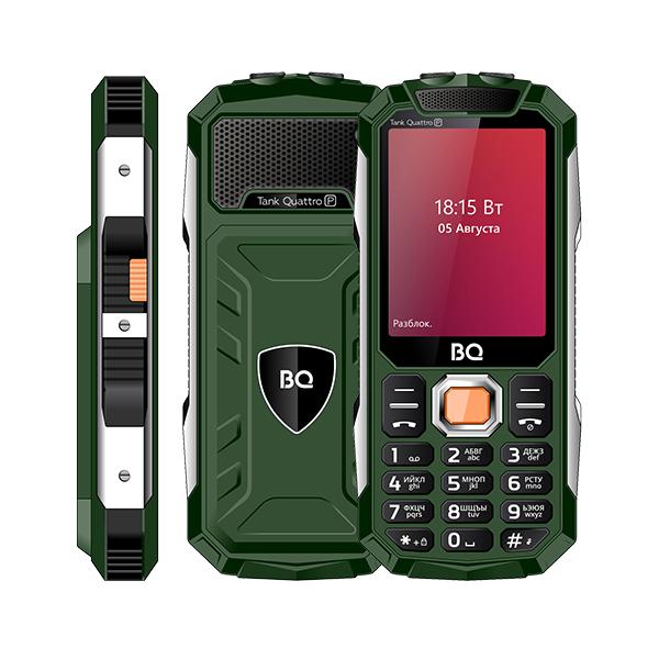 Сотовый телефон BQ 2817 Tank Quattro Power Green