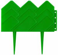 Бордюр декоративный Grinda для клумб, 14х310см, зеленый 422221-G