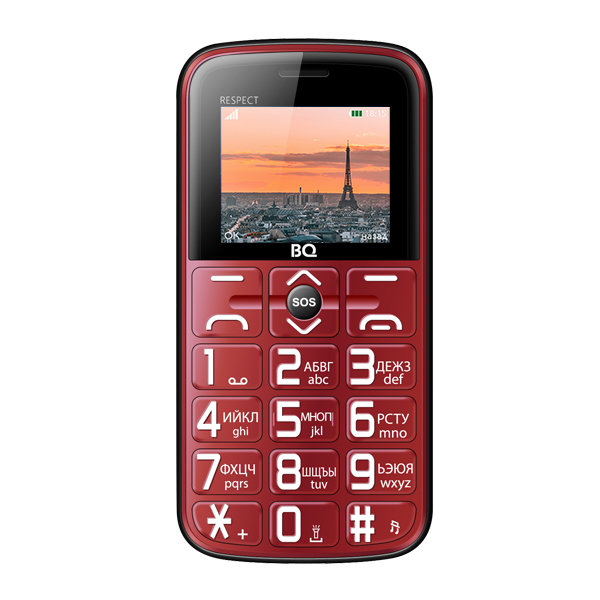 Сотовый телефон BQ 1851 Respect Red