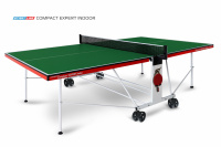 Теннисный стол Start Line Compact EXPERT Indoor GREEN 6042-21