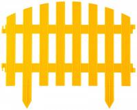 Забор декоративный Grinda АР Деко, 28x300см, желтый 422203-Y