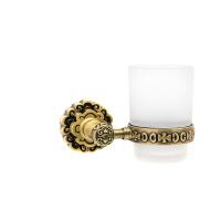 Держатель со стаканом настенный Milacio MC.903.BR, бронза (коллекция Villena)