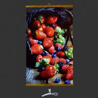 Обогреватель настенный инфракрасный гибкий Ниго-К-370 (Корзина с ягодами)