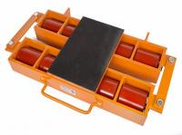 Роликовая платформа подкатная Tor 6000R-08W г/п 6 т