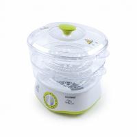 Пароварка Endever Vita-161 белый/зелены