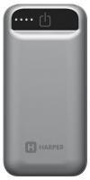Внешний аккумулятор Harper PB-2605 серый