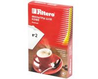 Фильтры для кофеварок Filtero №2/40, белые