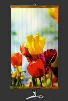Обогреватель настенный инфракрасный гибкий Ниго-К-370 (Тюльпаны)