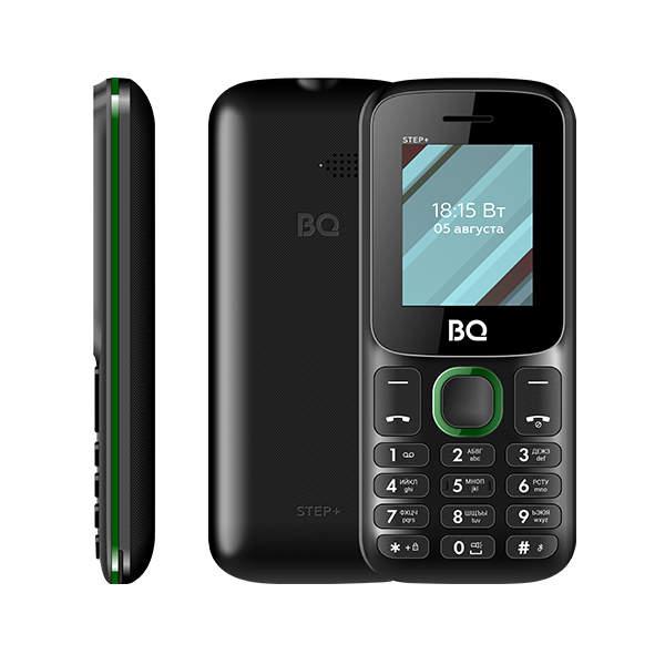Сотовый телефон BQ 1848 Step+ Black+Green