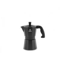Кофеварка алюминиевая гейзерная Moka Nero 3 cups