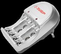 Зарядное устройство Зубр, 4хААА/АА, 59233-4