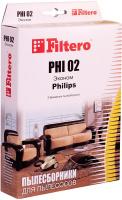 Пылесборники Filtero PHI 02 3 ЭКОНОМ