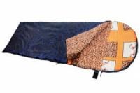Спальный мешок-одеяло с подголовником удлиненный 2,0*85  (t=+5' +20') СОПУ-200