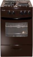 Электроплита Лысьва ЭП 301 МС коричневая без крышки