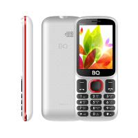 Сотовый телефон BQ 2440 Step L+, White+Red