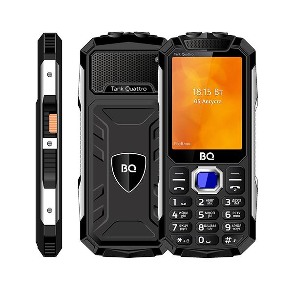 Сотовый телефон BQ 2819 Tank Quattro Black