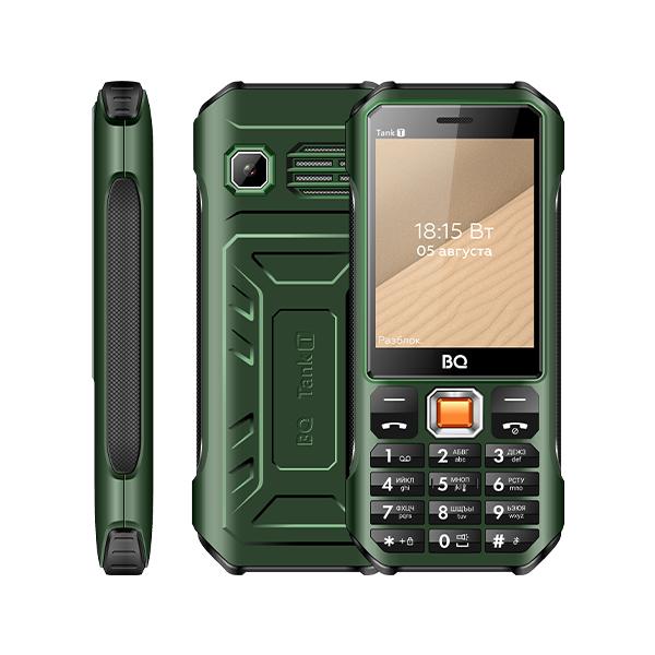 Сотовый телефон BQ 2824 Tank T Dark Green