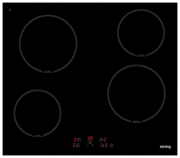 Электрическая варочная панель Korting HK 60001 B