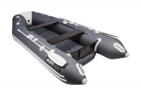 Лодка ПВХ Аква 3200 НДНД графит/светло-серый Л-387
