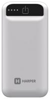 Внешний аккумулятор Harper PB-2605 белый