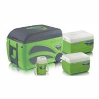 Набор изотермических контейнеров 4шт Pinnacle ТРХ-2061-N4 Зеленый